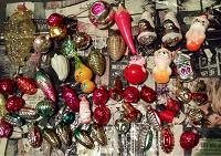 Отдается в дар Советские елочные игрушки