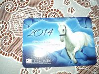 Отдается в дар календарик 2014 в коллекцию