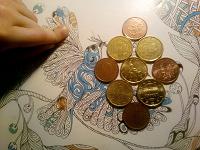 Отдается в дар монетки из евросоюза