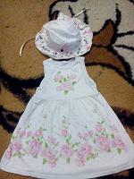 Отдается в дар платье и панамка