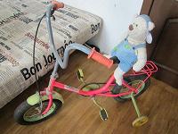 Отдается в дар Розовый велосипед на ходу детям 3-5 лет