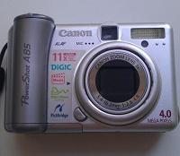 Отдается в дар Canon PowerShot A85