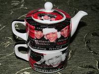 Отдается в дар Чайник с чашечкой. Комплект.