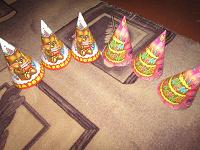 Отдается в дар Колпачки для детского праздника