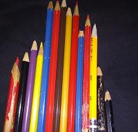 Отдается в дар Цветные карандаши