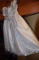 Отдается в дар Праздничное платье для малышки.