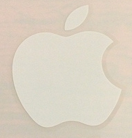 Отдается в дар Наклейка Apple