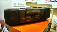 Отдается в дар daewoo -2-кассетная магнитола из 90-х