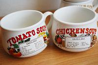 Отдается в дар Две суповые чашки