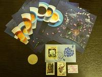 Отдается в дар Коллекционерам: открытки, марки, монета, билетики