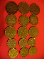 Отдается в дар монетки Франции