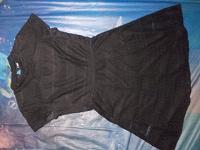 Отдается в дар Черное кружевное платье