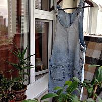 Отдается в дар джинсовый сарафан 42-44