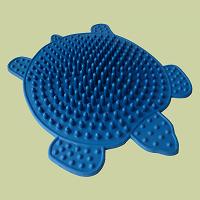 Отдается в дар Резиновый массажный коврик для ног Черепаха