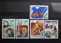 Отдается в дар Космонавтика. Почтовые марки Кубы.