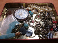 Отдается в дар Фурнитура, бижутерия, часы