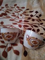 Отдается в дар Пара чашечек для утреннего кофе