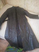 Отдается в дар Кожаное пальто времён СССР 46-48