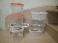 Отдается в дар Контейнеры пластик