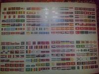 Отдается в дар Большой набор флагов для большой коллекции