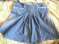 Отдается в дар Юбочка джинсовая
