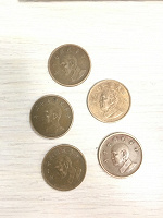 Отдается в дар монеты Тайвань
