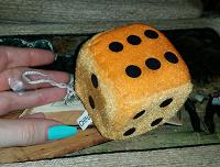 Отдается в дар Плюшевый кубик