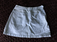 Отдается в дар Белая джинсовая юбка р-р S-M
