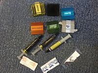 Отдается в дар Радиаторы от комплектухи + термопаста
