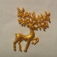 Отдается в дар Брошь «Олень золотые рога»