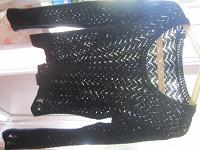 Отдается в дар Кофта черная 44-46 размер
