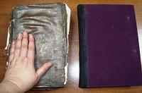 Отдается в дар 2 антикварные Богослужебные книги на старославянском языке
