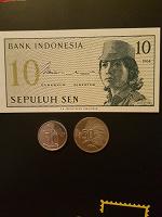 Отдается в дар Купюра и монеты Индонезии
