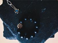 Отдается в дар Православные чётки и серебряная подвеска с топазом