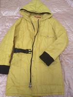 Отдается в дар Куртка-пальто на синтепоне, женская