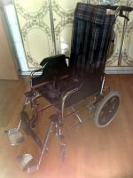 Отдается в дар Кресло-каталка инвалидное б/у
