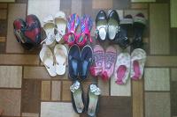 Отдается в дар обувка для девочки р.34-35
