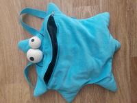 Отдается в дар Детский рюкзачок мягкий в виде морской звездочки с ньюансом.