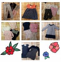 Отдается в дар Школьные платья, одежда для девочки 116-128 (6-8 лет)