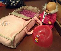 Отдается в дар Кукла-пупс с приданным