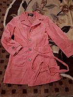 Отдается в дар Розовое пальто 42