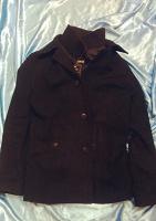 Отдается в дар Мужское драповое пальто (молодёжное), размер 48-50 (L) на рост от 175 см