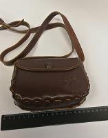 Отдается в дар Крохотная сумочка из натуральной кожи