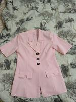 Отдается в дар Жакет женский, нежно розового цвета 46-48