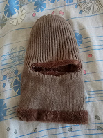 Отдается в дар Шапка балаклава тёплая-тёплая