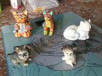 Отдается в дар Фигурки котов