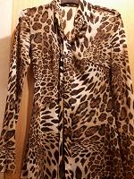Отдается в дар Леопардовая кофта 42-44
