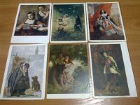 Отдается в дар открытки СССР «живопись» (1) 6 шт
