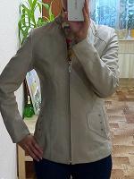 Отдается в дар куртка кожаная 44 -46 размер