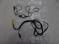 Отдается в дар Для плеера iRiver iMP-1100 — пульт управления и кабель видео